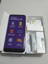 Smartphone Samsung J8 64gb (usado por duas semanas apenas)