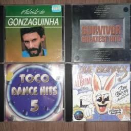 10 cd's originais
