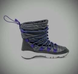 _(Novo) Tênis Nike Footscape ROUTE LAB Sneakerboot Black /Modelo- Nike Impermeável > N°41