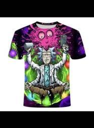 2 X rick e morty camisetas