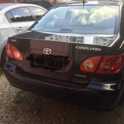 Título do anúncio: Toyota/corolla xei 1.8 automatic/2007 vd/financio