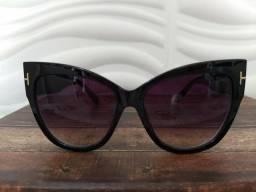 Usado, Óculos de Sol Tom Ford + caixinha + flanela comprar usado  Itaquaquecetuba