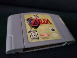 Zelda Nintendo 64 The Legend Of Zelda Ocarina Of Time N64 comprar usado  Guarulhos