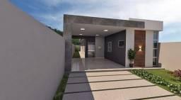 Casas Novas na Planta, 124m2, 3 Suítes, 8m x 26m, Churrasqueira, Chuveirão e 2 Vagas