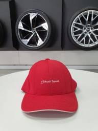 Boné Unissex Audi Sport Vermelho
