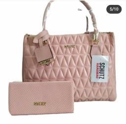 Bolsa mais carteira feminina
