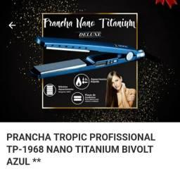 Chapinha prancha tropic profissional mano titanium bivolt