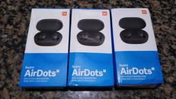 "Fone de ouvido Bluetooth Redmi AirDots ""S"" Produto Contato *"