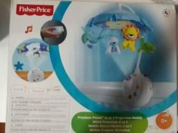 Móbile giratório com projetor de Bichinhos Fisher-Price 0+