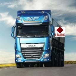 Novo : DAF xf Fts 530 Super Space 6x4 Completo Aut 2021