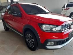 Título do anúncio: VW/Saveiro Cross CD 1.6 20/21 na garantia de fábrica!!