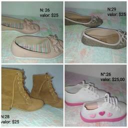 Título do anúncio: Roupas e sapatos Infantil semi-novos