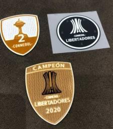 kit patch campeão libertadores 2020 palmeiras taça 2
