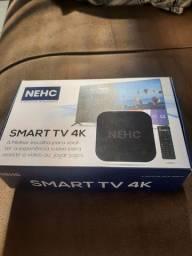 Tv box NEHC 4K nova 2 gigas com 16