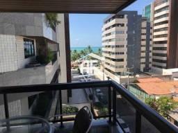 Ótima opção na Ponta Verde - Apartamento com vista para o mar, 4 quartos (3 suítes)