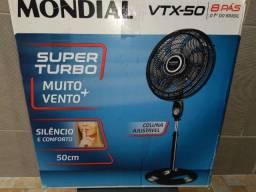 Título do anúncio: Ventilador Mondial com pedestal VTX 50