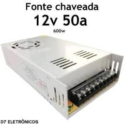Fonte Chaveada 50A Poucas Unidades