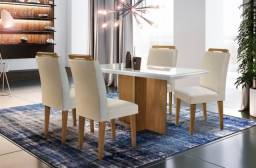 Título do anúncio: Mesa de jantar Berlim c/4 cadeiras- Entrega Grátis