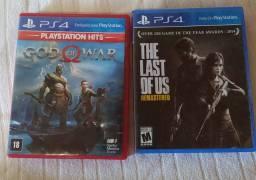 God of war last of us PS4 jogos games