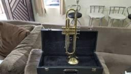 Trompete Yamaha (Japan) modelo Ytr-2320E - Si Bemol - Laqueado - Raridade !!!