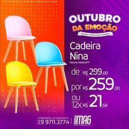 Título do anúncio: Cadeira polipropileno eames charles Nina