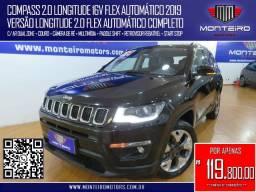 Título do anúncio: Jeep Compass 2.0 Longitude 16v Flex Automático Completo C/ Multimídia Uconnect