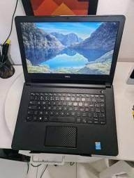 Título do anúncio: Notebook dell i5 5th geração 4gb ram 500gb hd armazenamento