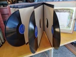 Álbum 12 discos Vinil  raridade antiguidade 78 rotações