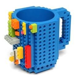 Título do anúncio: Caneca Lego 400ml + Pecinhas