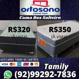 Super Oferta de Cama Box Solteiro , Entrega  Grátis