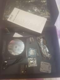Placa mãe Asus Strix b250F Gaming, processador I5 7400