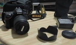 Título do anúncio: Câmera profissional Nikon D7100