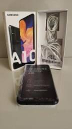 Título do anúncio: Samsung A10 32GB preto 590,00 Seminovo Impecável