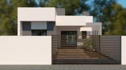 Casa nova, 3 quartos com piscina, baln Itapoá