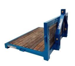 Título do anúncio: Plataforma Traseira p/ Trator - Cap. 750 kg