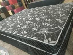 Título do anúncio: Kit Cama box conj casal + lençol 3 peças $390