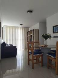Apartamento mobiliado com  2 quartos suíte no Centro