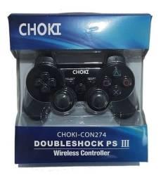 Controle para PS3 Playstation 3 DualShock Wirelless Sem Fio