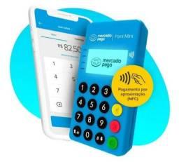Título do anúncio: Maquininha Cartão Crédito/débito Mercadopago 3 Anos Garantia