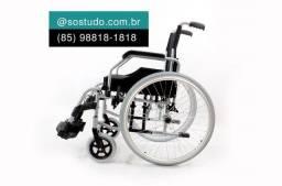 Título do anúncio: Cadeira de rodas dobravel d600 Dellamed a pronta entrega *
