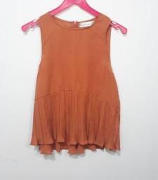 Blusa marrom frisada -  (Goiás)