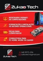 Montagem e consultoria para computador Gamer e Renderização