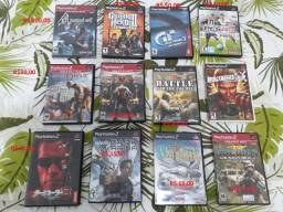 Jogos originais para Ps2 (novos e usados)