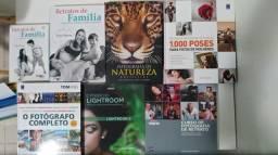 Livros sobre fotografia. Várias editoras. 99655-3535