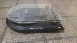 Toca-disco De Vinil/conversor Para Mp3 Usb - Quickplay Flash