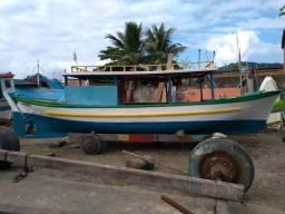 Barco baleeira reformada motor Yanmar - 2008