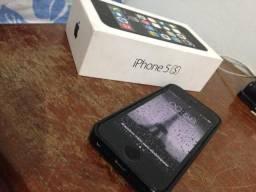 IPhone 5S seminovo 16GB impecável