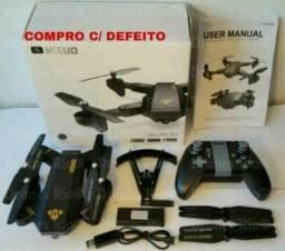 Compro Drone Visuo C/ Defeito LEIA ANÚNCIO