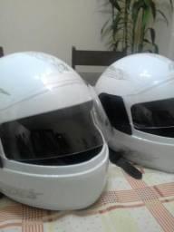 2 capacetes.novos.100