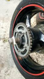 Roda taseira da Bandit 1250